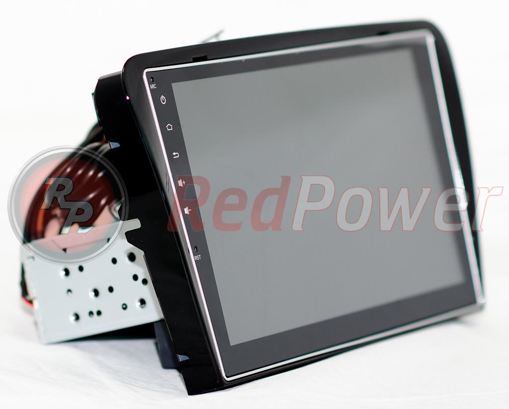 Магнитола для Skoda Octavia A7 RedPower 31007 IPS вид сбоку