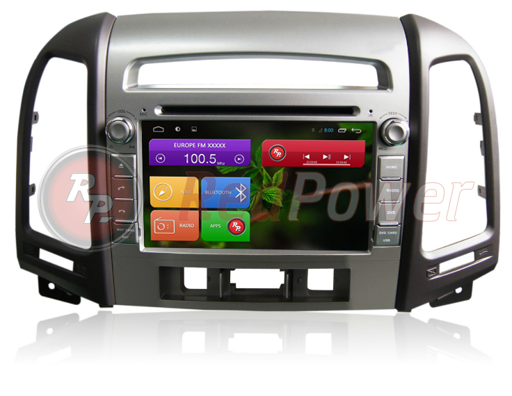 Головное устрйоство RedPower 21008 Hyundai Santa Fe под 3 кнопки
