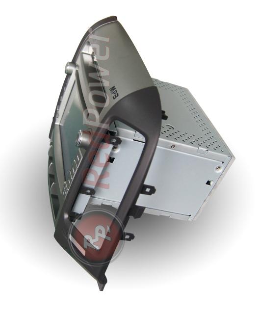 штатная автомагнитола hyundai SantaFe RedPower 21008 вид сбоку