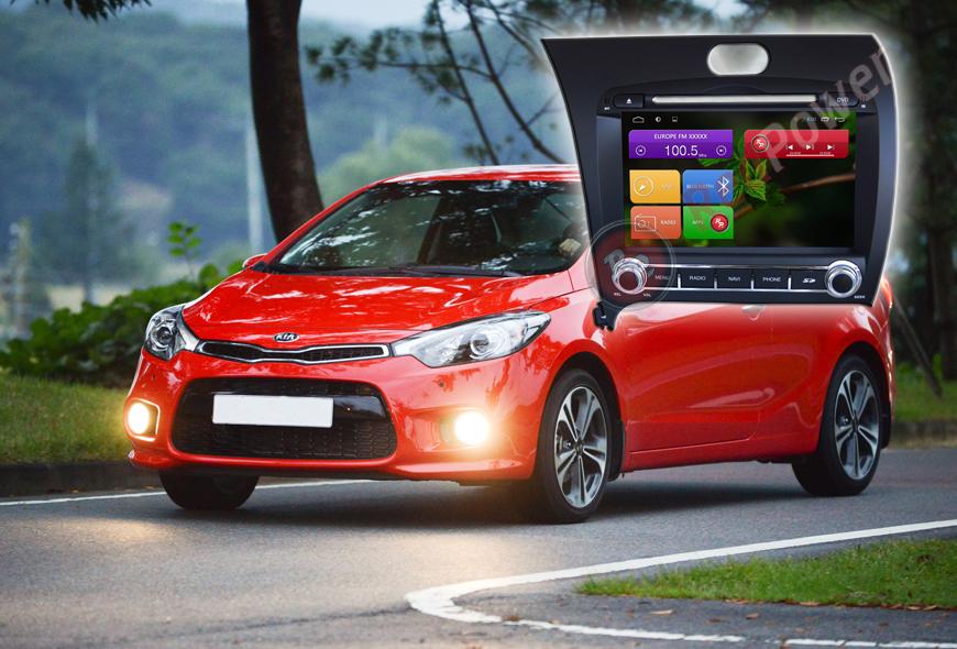 Штатное головное устройство Kia Ceraro автомагнитола Redpower 21032B Android
