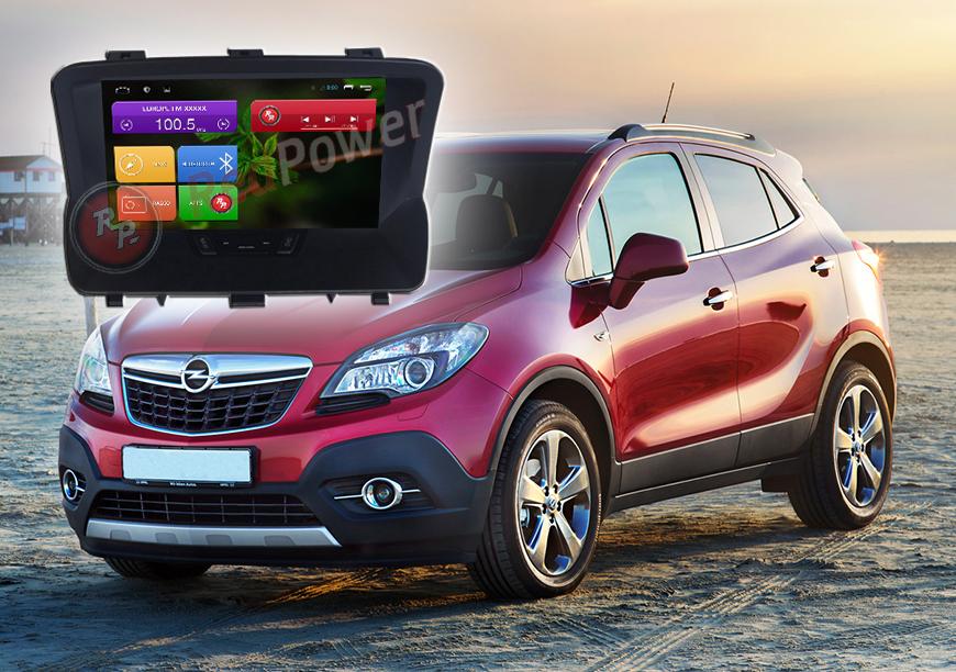 Штатное головное устройство Opel Mokka автомагнитола Redpower 21054 android