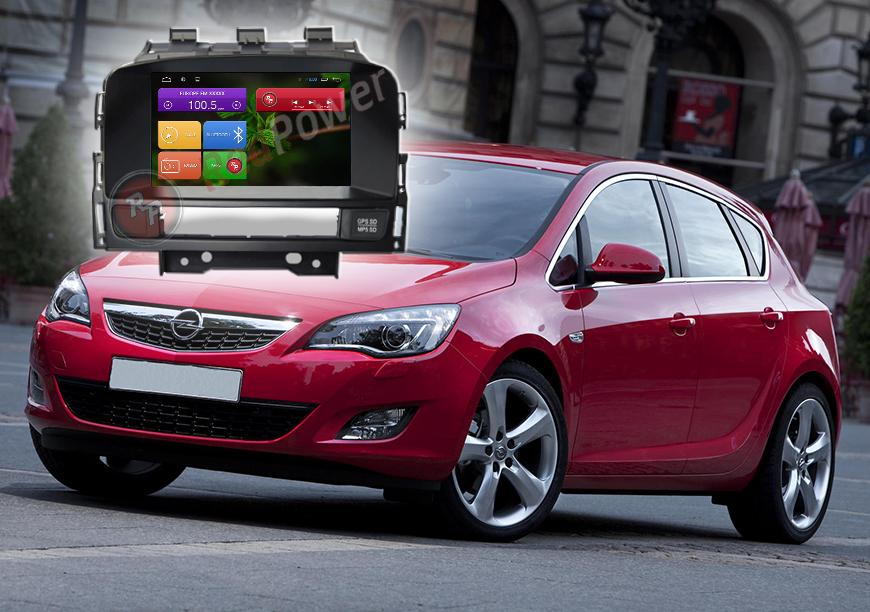 Штатное головное устройство Opel Astra О автомагнитола Redpower 21072B android