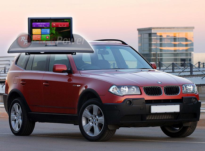 Штатное головное устройство BMW X3 автомагнитола Redpower 31103 Android