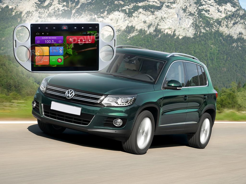 Штатное головное устройство Volkswagen Tiguan автомагнитола Redpower 21204B  android