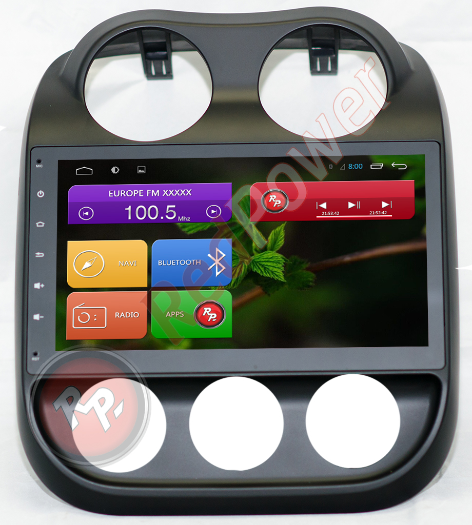 Головное устройство jeep compass RedPower 21316B