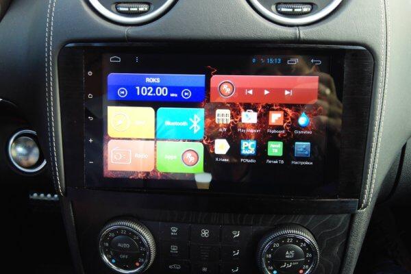 Головное устройство Mercedes-Benz ML GL RedPower 31168 IPS