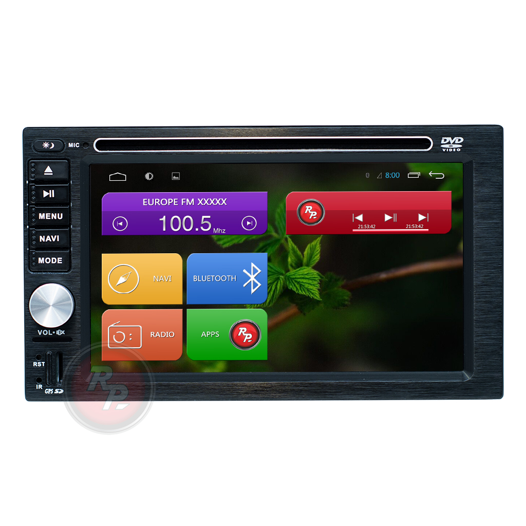 RedPower 31001 DVD автомагнитола 2 din 178*102
