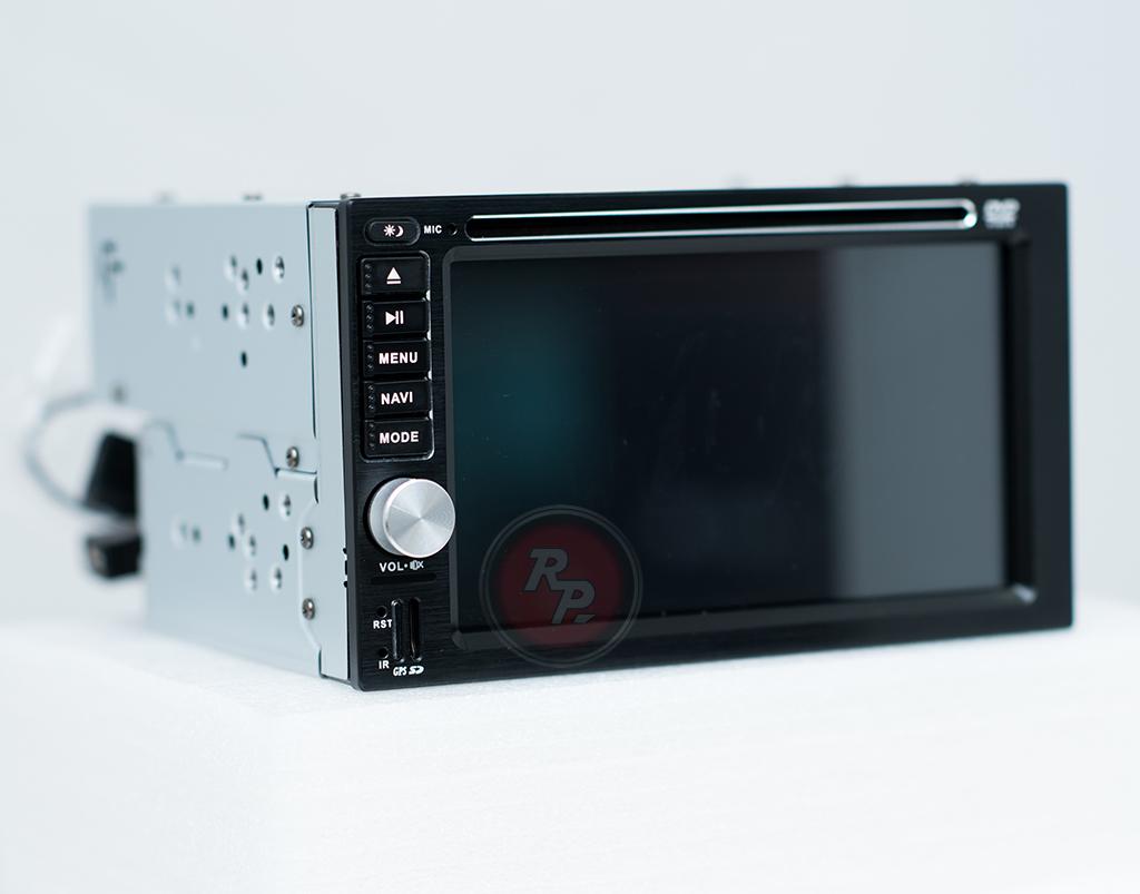 RedPower 21001BDVD автомагнитола 2 din вид сбоку