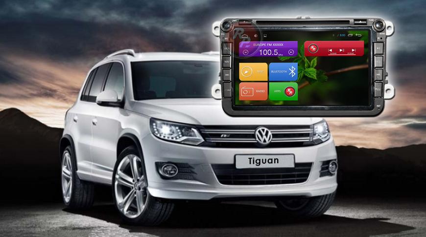 Штатное головное устройство Volkswagen Skoda автомагнитола Redpower 21004BDVD