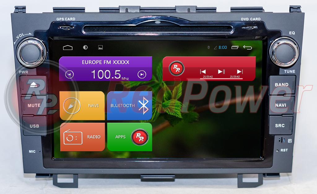 Штатное головное устройство Honda CR-V RedPower 21009