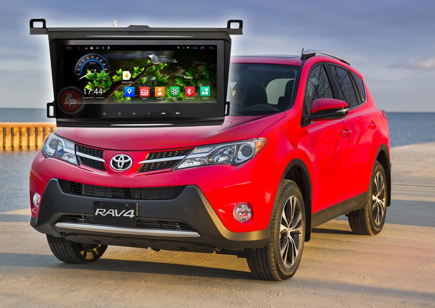 Штатное головное устройство Toyota Rav4 автомагнитола Redpower 21017BV android