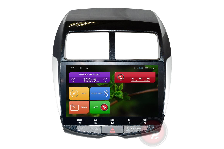 Головное устройство RedPower 31026 IPS на Митсубиша АСХ