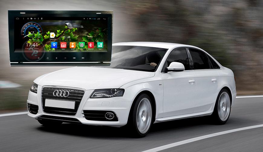 Штатное головное устройство Audi A4 автомагнитола Redpower 21050B android