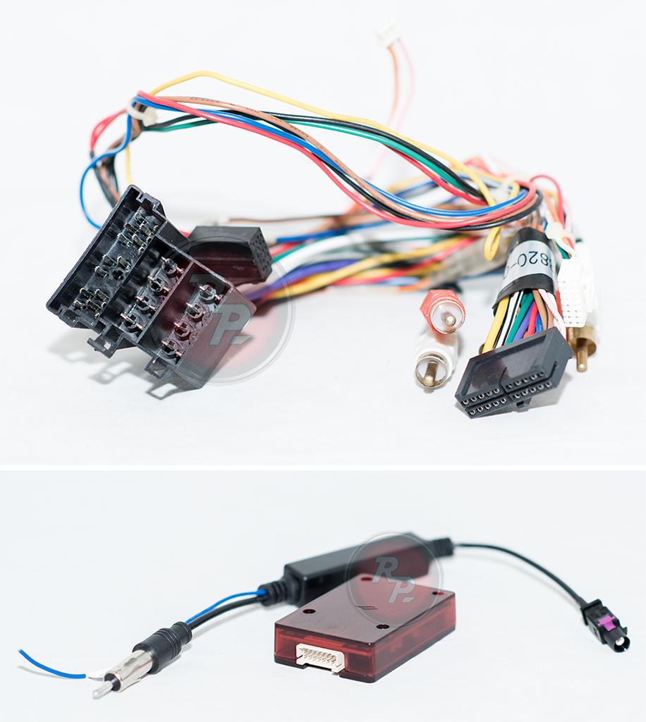 Колодки для подключения магнитолы ауди а4