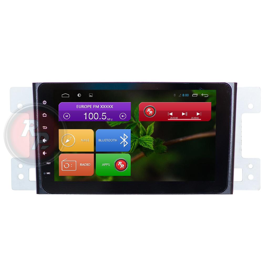 Головное устройство RedPower 31053 IPS на Suzuki Grand VItara