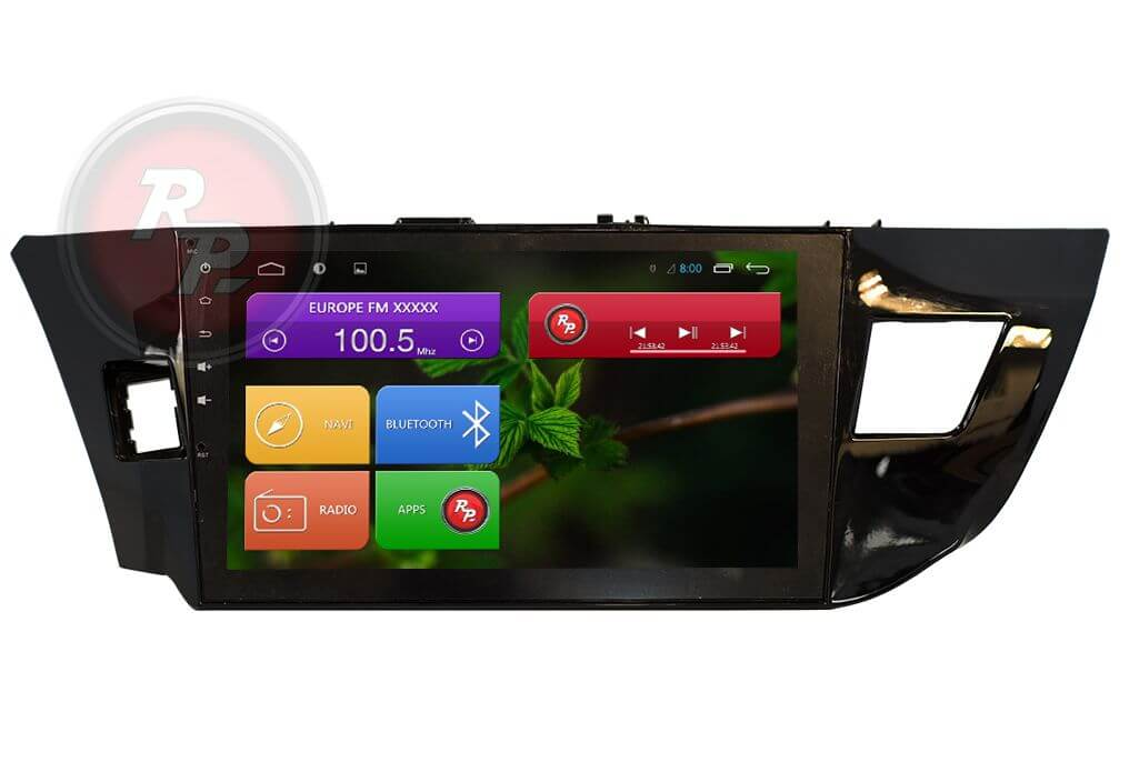 Штатное Головное устройство RedPower 31066 IPS Toyota corolla
