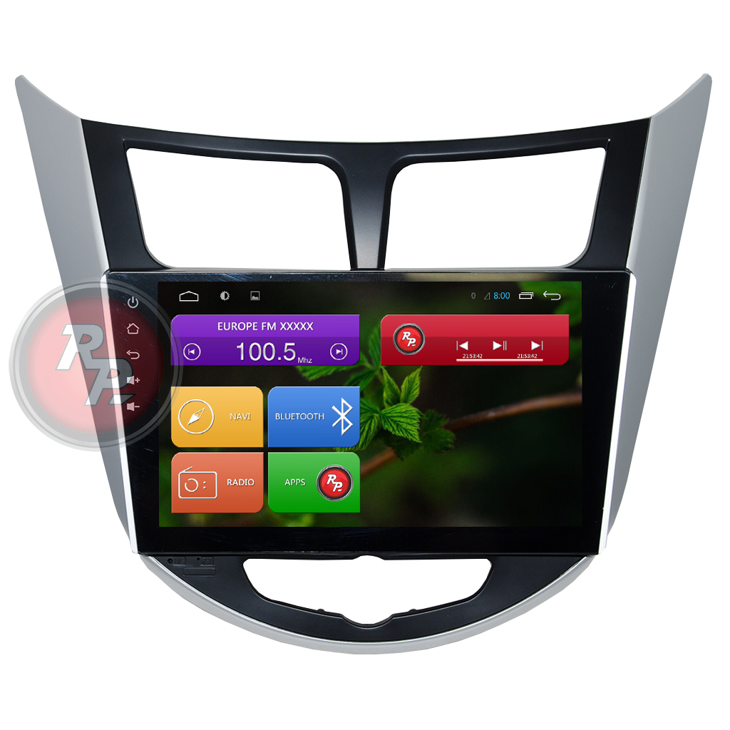 Головное устройство android Hyundai Solaris RedPower 21067B IPS