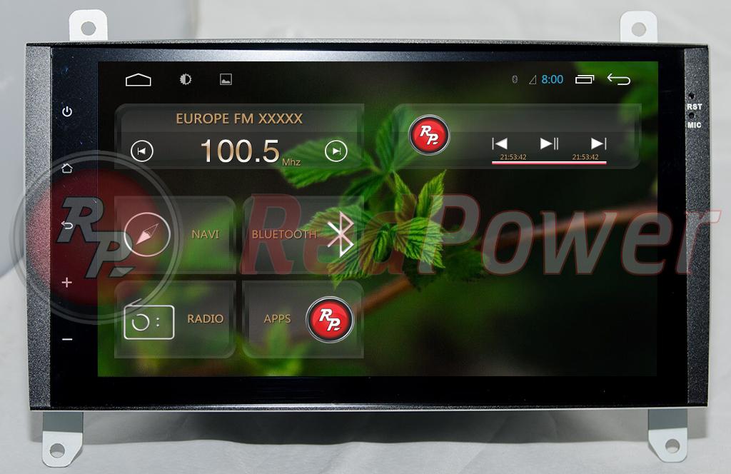 Штатная автомагнитола Vito Viano Android  4 Redpower 21068B IPS