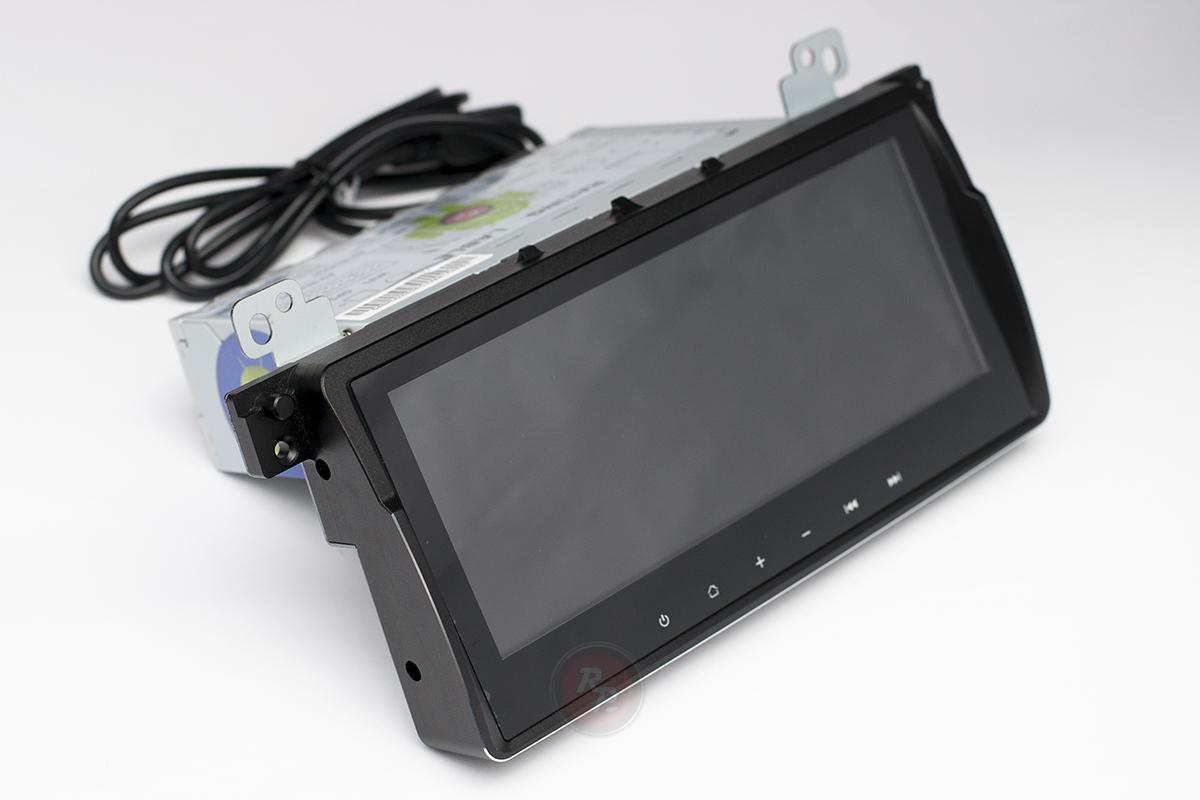 Головное устройство на BMW 3 кузов E46 RedPower 31081 IPS вид сбоку