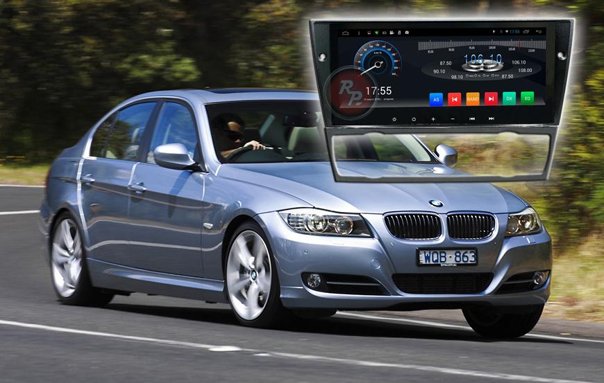 Штатное головное устройство BMW 3 автомагнитола Redpower 21082B Android