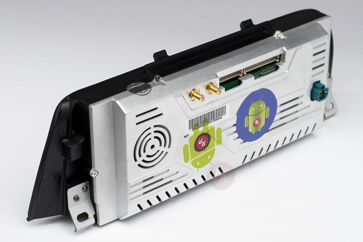 Автомагнитола RedPower для  BMW F10 вид сзади