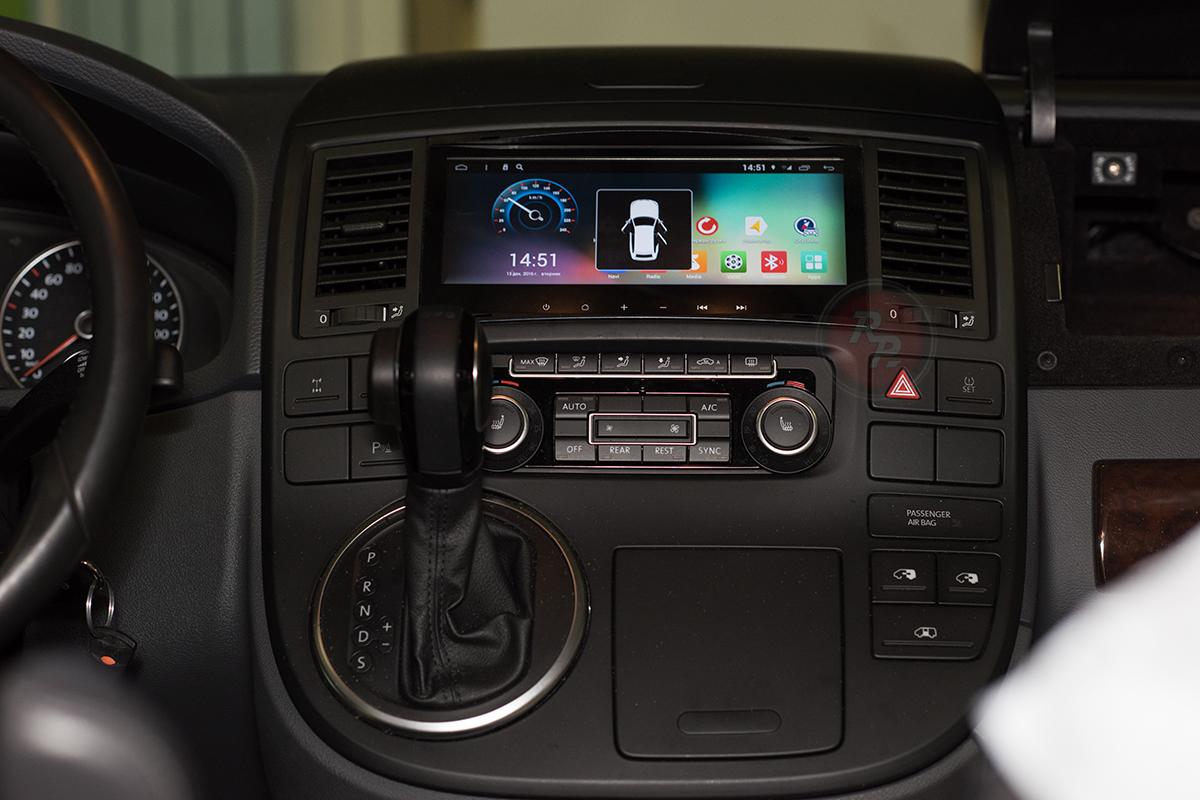 RedPower 31142 IPS DSP в Volkswagen Multivan 2014 г. открытие дверей отзывы