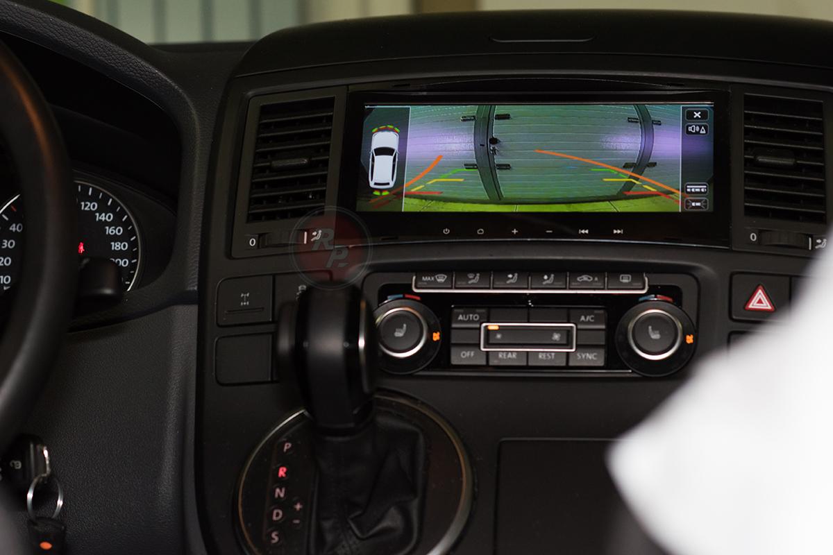 RedPower 31142 IPS в Volkswagen Multivan 2014 г. динамические парковочные линии отзывы