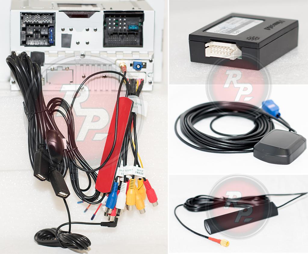 Провода для подключения магнитолы Touareg/Multivan Redpower 21142B