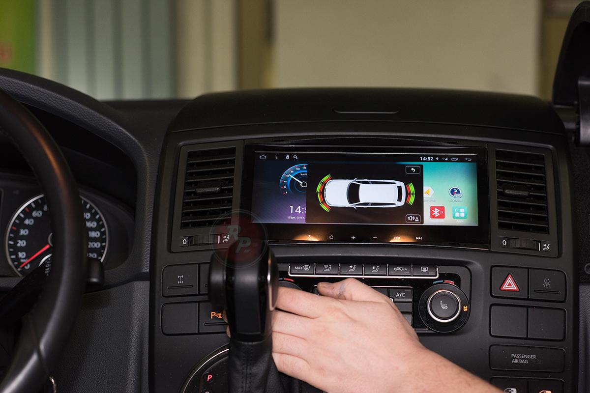 RedPower 31142 IPS DSP в Volkswagen Multivan 2014 г. парктроник