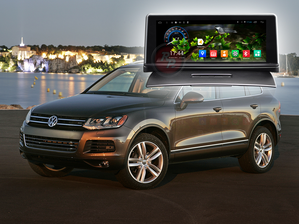 Штатное головное устройство Volkswagen Touareg автомагнитола Redpower 21143 B IPS android