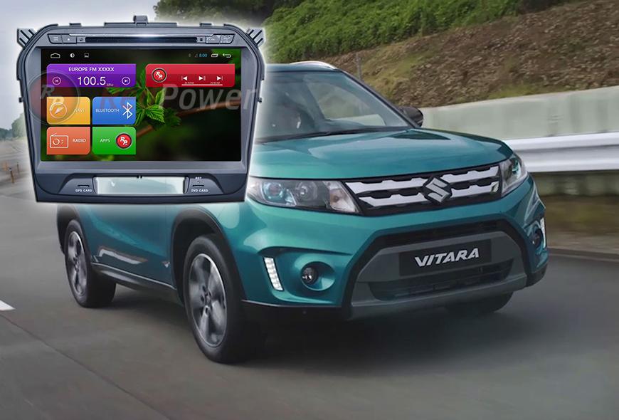 Штатное головное устройство Suzuki Vitara автомагнитола Redpower 21153B android