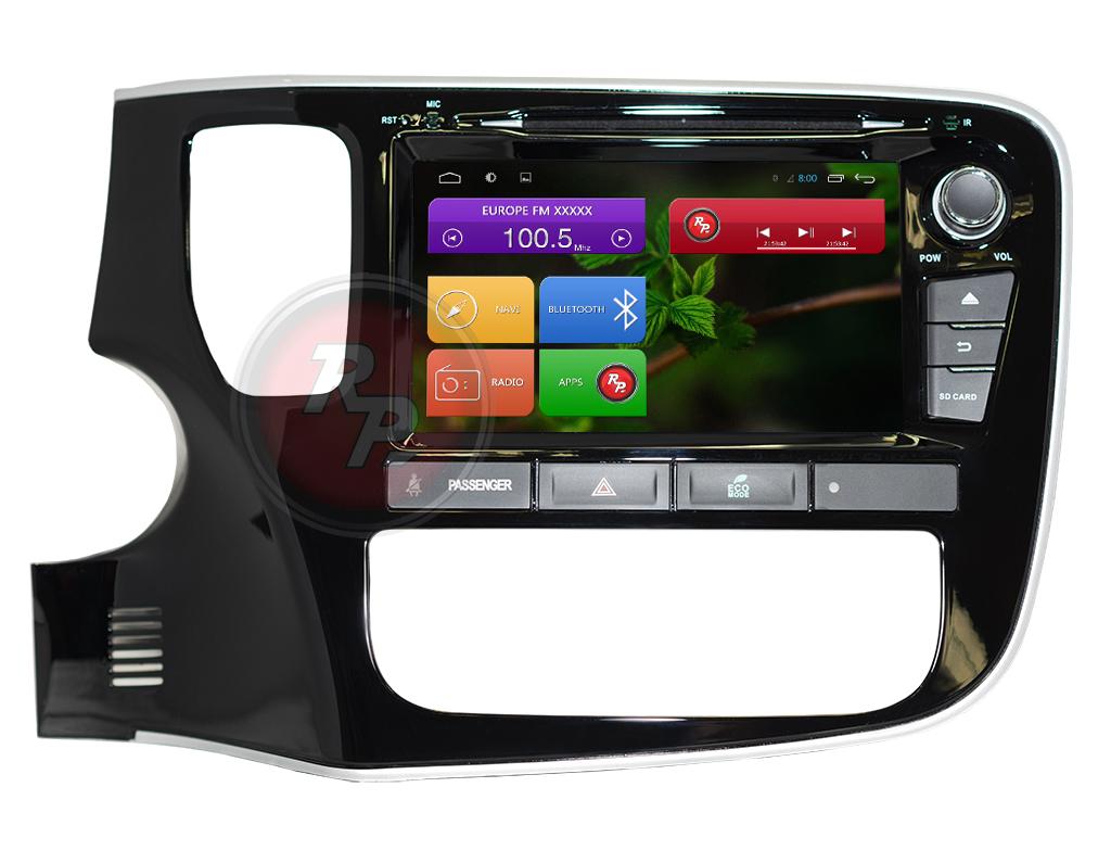 Головное устройство RedPower 31156 IPS для Митсубиши аутлэндер