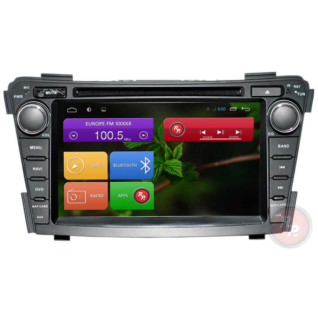 RedPower 21173 на автомобиль Hyundai I40 автомагнитола, штатное головное устройство