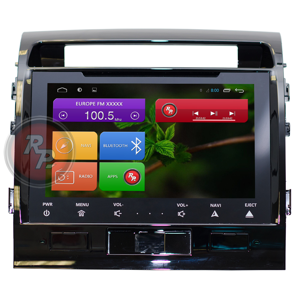 Головное устройство RedPower 21200B IPS для Тойота Лэндкрузер 200