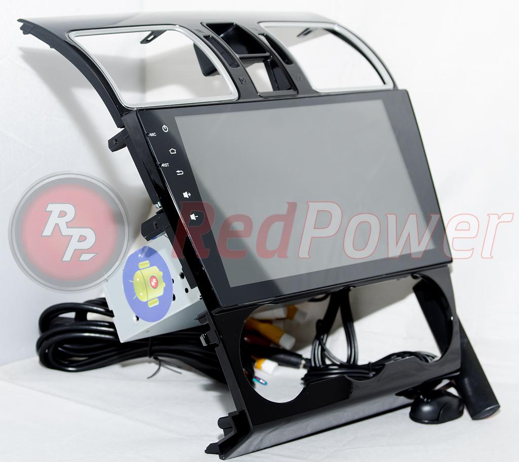Redpower 21262B IPS вид сбоку автомагнитола Субару