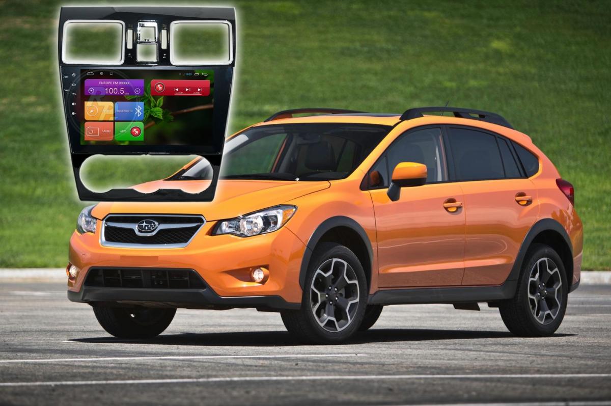 Штатное головное устройство Subaru Forester Xv  автомагнитола Redpower 21262B IPS