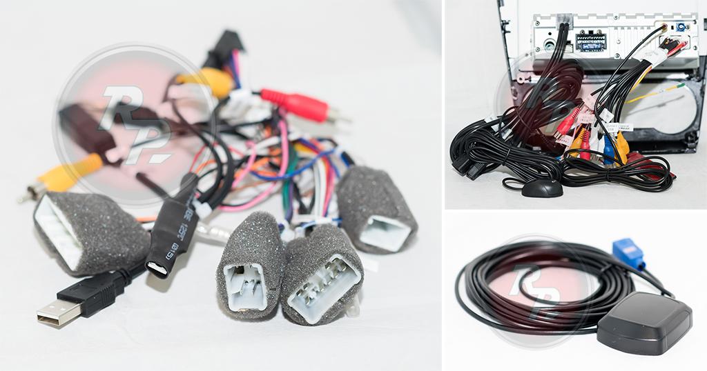 Кололдки проводов для подключения Subaru Forester 2015+
