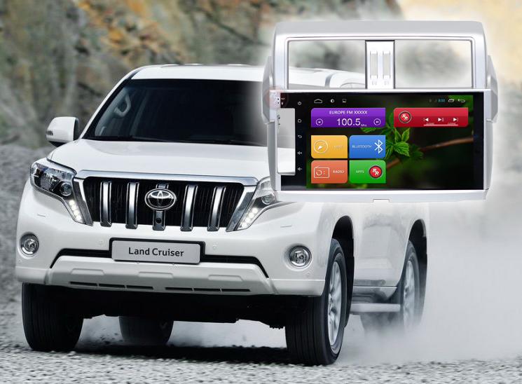 Магнитола для Toyota Prado 150    Автомагнитолы для Тойота на RedPower.ru