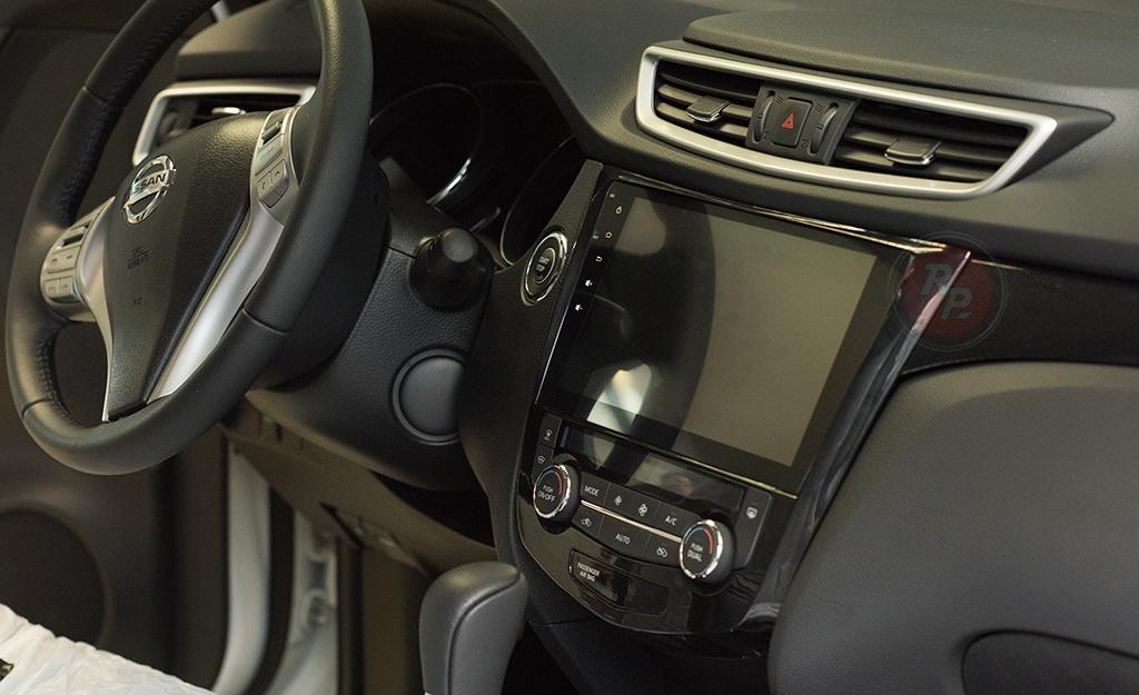 Установка автомагнитолы RedPower 31301 R IPS  DSP в Nissan X-Trail 2016 г.