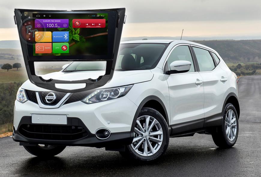 Штатное головное устройство Nissan qashqai, X-trail автомагнитола Redpower 21301B IPS android