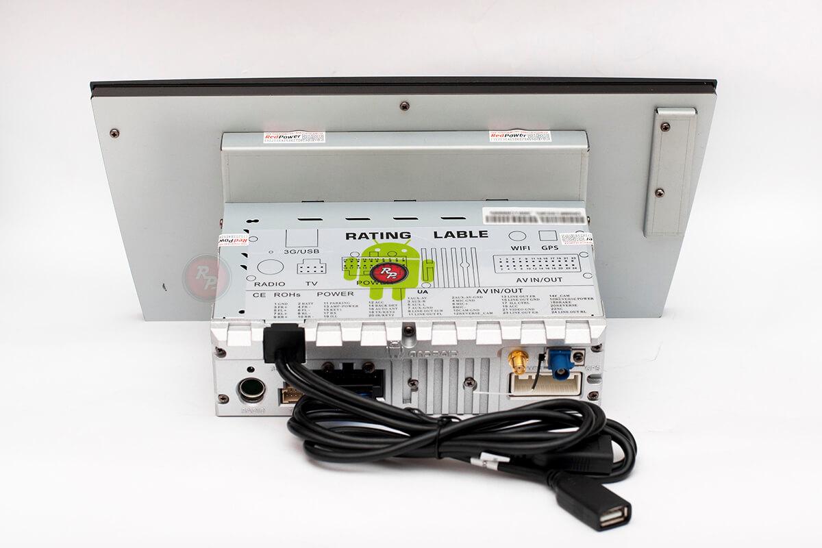 Штатная автомагнитола RedPower 31563 IPS на Subaru Outback, навигация, Android