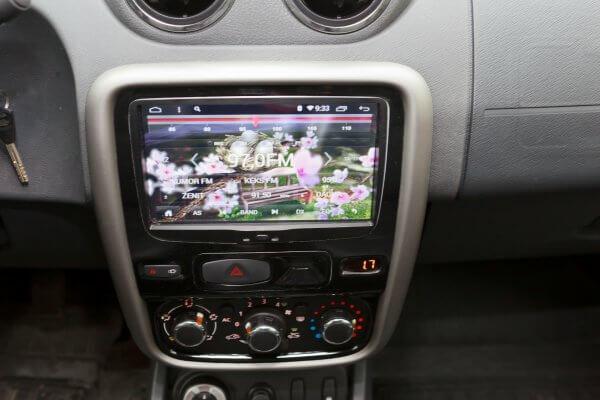 Установка втомагнитолы для Renault, Lada Redpower 31157 IPS DSP