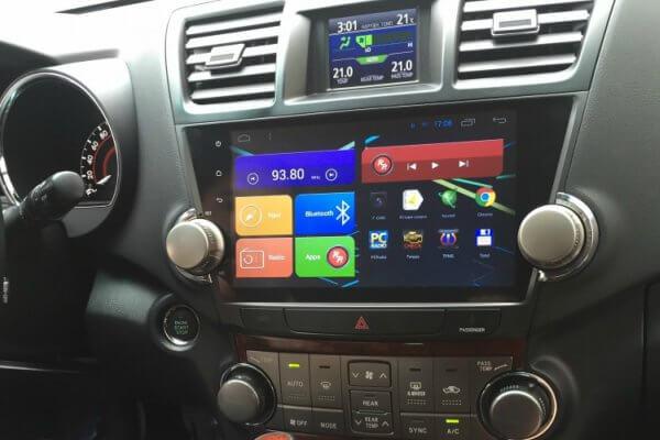 Автомагнитола для Toyota Highlander Redpower 31035 IPS Штатное головное устройство