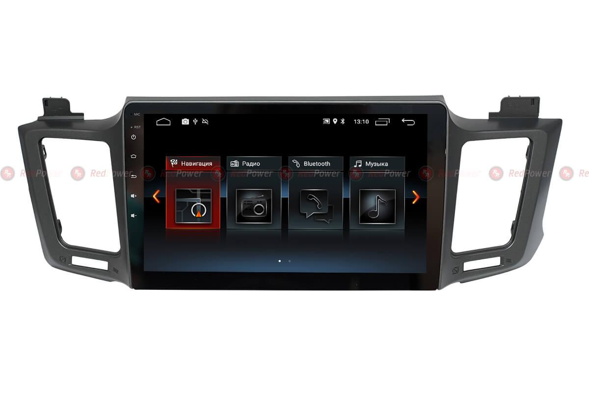 Магнитола Тойота РАВ4 2012+ автомагнитола Redpower 30017 IPS Android