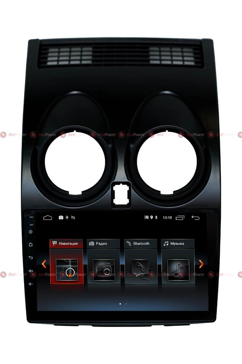 Штатная автомагнитола RedPower 30030 IPS на Nissan Qashqai