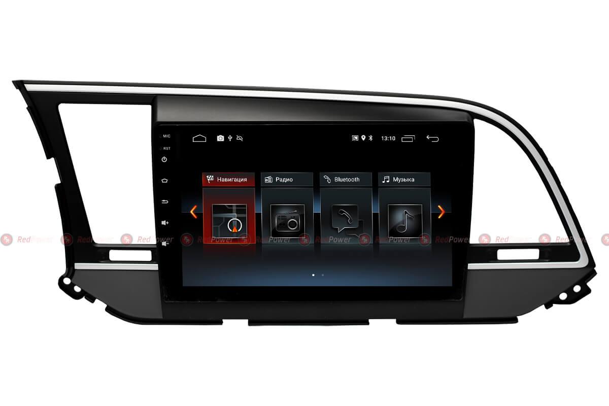 Головное устройство android Hyundai Elantra RedPower 30094 IPS
