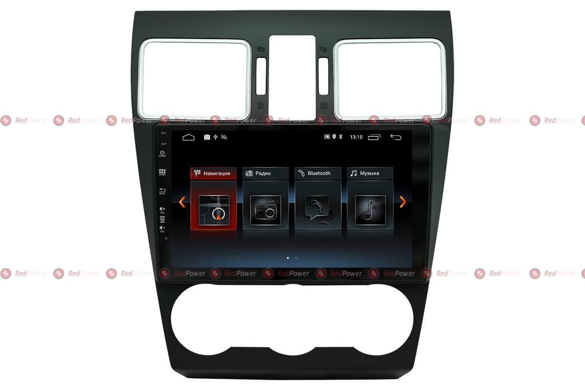 Штатное головное устройство для Субару Форестер, ХВ штатная автомагнитола на Android