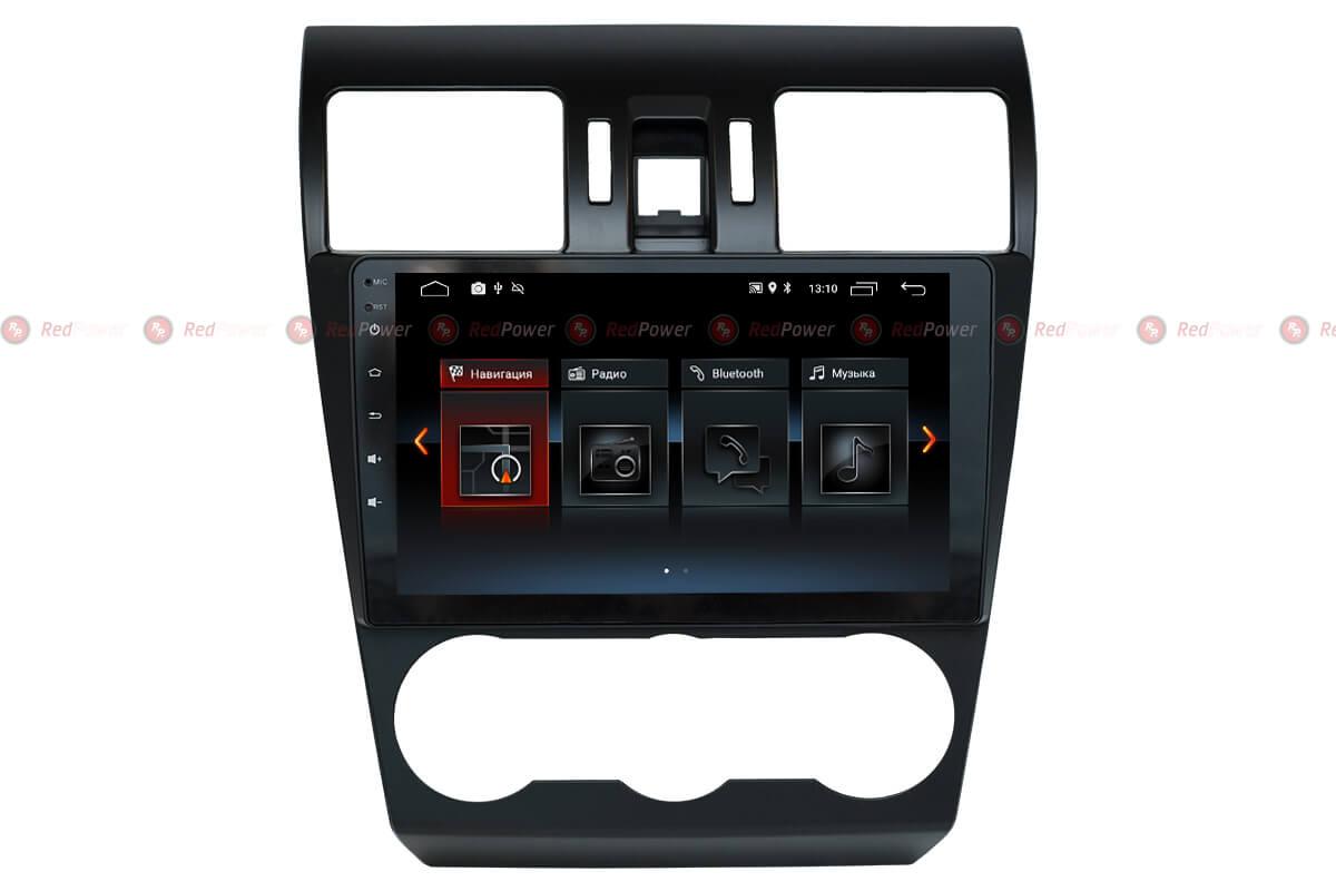 Автомагнитола для Subaru Forester 2015-, XV Redpower 30362 IPS
