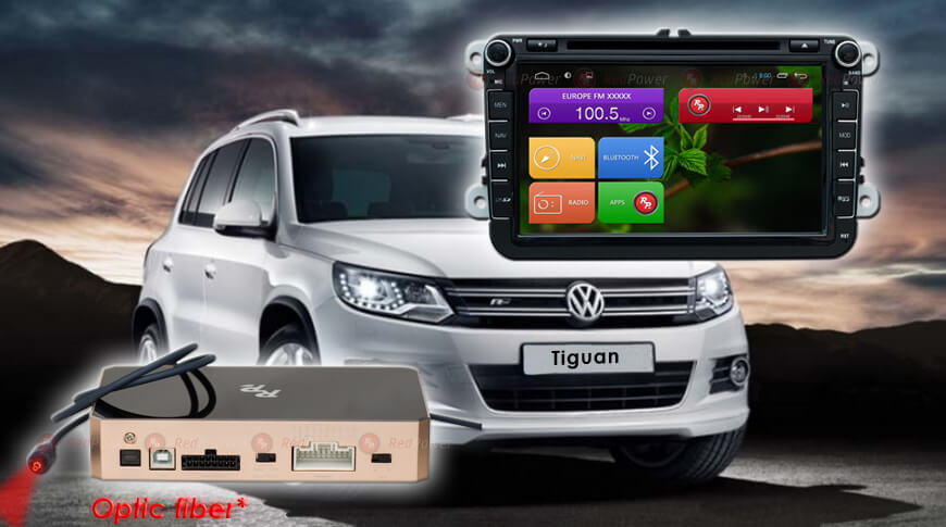 Штатное головное устройство Volkswagen Skoda автомагнитола Redpower 31004 DVD