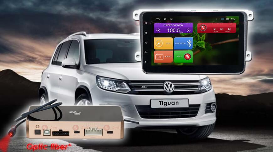 Штатное головное устройство Volkswagen автомагнитола Redpower 31004 на 8'' android